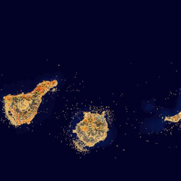 Transición Ecológica actualiza el mapa de especies protegidas de Canarias