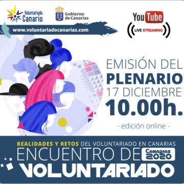 El Encuentro de Voluntariado 2020 se marca como objetivo empoderar el voluntariado en la sociedad canaria