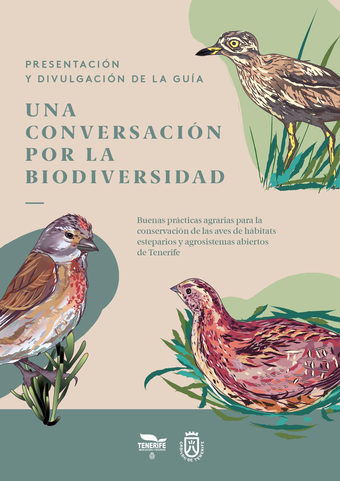 El Cabildo de Tenerife presenta una guía para la conservación de aves esteparias