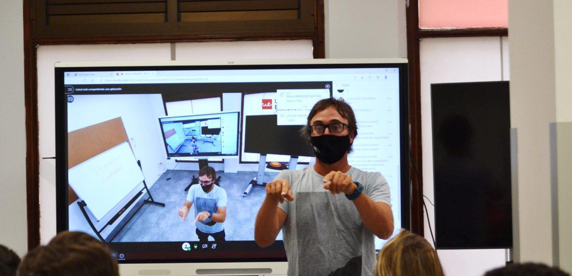 Iván Méndez lleva Activa Canarias a la Universidad Europea de Canarias