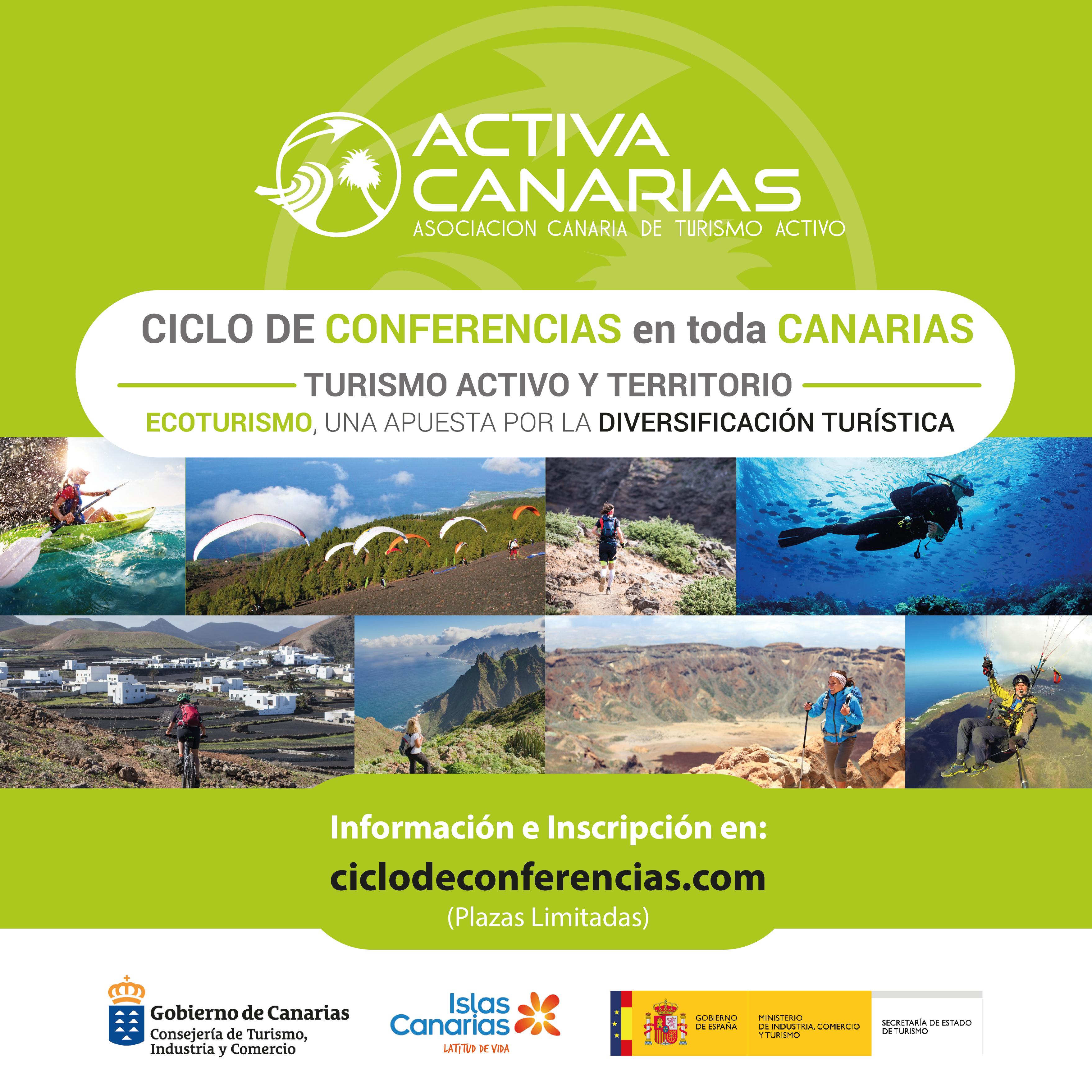 Activa Canarias lleva la diversificación turística a todas las islas