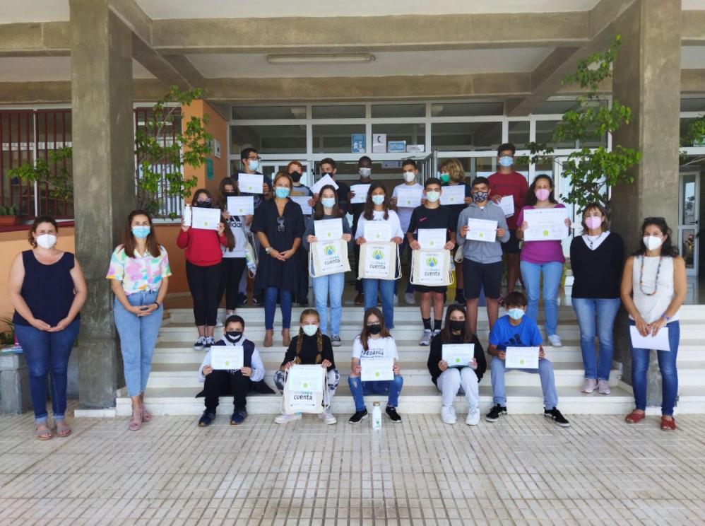 Radio ECCA forma al alumnado del IES El Paso en el uso eficiente del agua