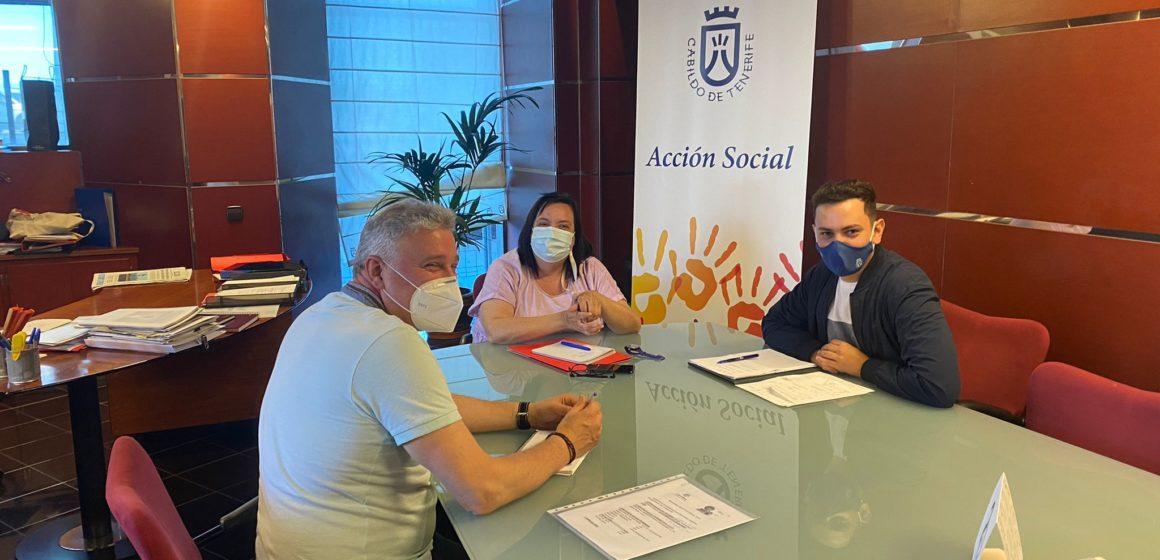 El Cabildo mantiene nuevas reuniones con las entidades que atienden a personas vulnerables