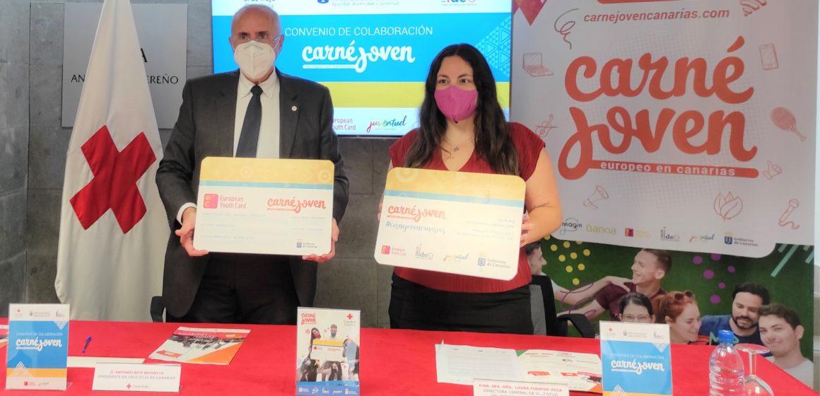 Juventud y Cruz Roja promoverán la integración laboral y social de la población juvenil canaria