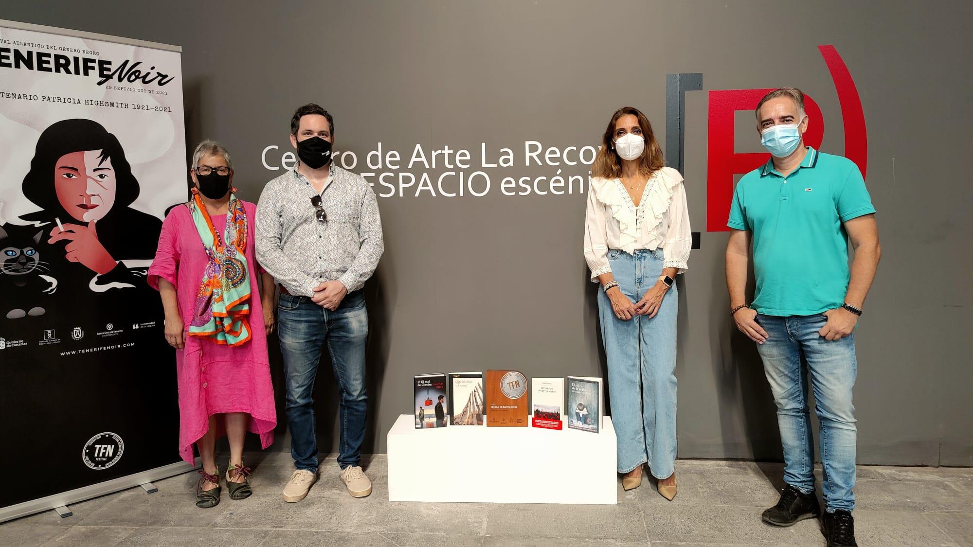 Cuatro obras aspiran al VII Premio Ciudad de Santa Cruz de Novela Criminal que otorgan Tenerife Noir y el Ayuntamiento de la capital tinerfeña