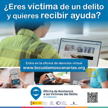 El Gobierno de Canarias pone en marcha un recurso de apoyo a las víctimas de delito