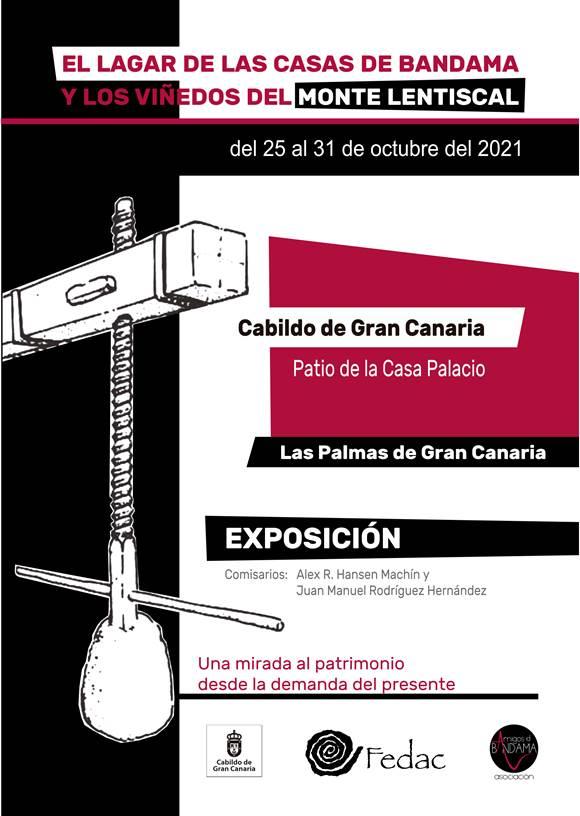 Exposición 'El lagar comunal de las Casas de Bandama y los viñedos del Monte Lentiscal'